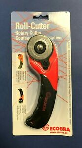 Ecobra Roll-Cutter Ø 28 mm / Ø 45 mm rot schwarz Für Rechts- und Linkshänder