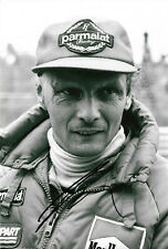 Niki Lauda signed 8x12 inch photo autograph