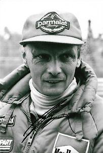 Niki Lauda signed 8x12 inch photo autograph
