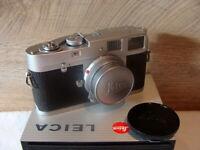 "Leitz Wetzlar - Leica M1 Kit Elmar-M 1:2.8/50mm ""1a Sammlerstück"" - RAR!"
