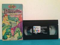Dink : Le petit dinosaure l'ami de shyler    VHS tape & sleeve FRENCH