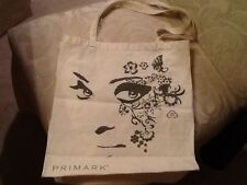 Primark Ireland light beige Canvas Tote Bag 100% Cotton