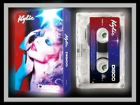 Kylie: Disco - Limited Edition CLEAR Cassette - Fan Site Exclusive