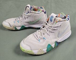 Nike Kyrie 4 90s Decade Pack Purple Multi-color Sz 7Y/ Wmns 8.5  AA2897-902