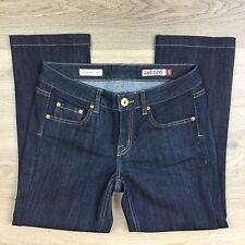 Jag Jeans Mid Rise Reg Fit Crop Capri Blue Women's Jeans Size 9 W29 L25 (N16)