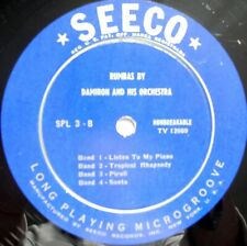 SAMBAS BY Noro Morales And His Orchestra RUMBAS BY Damiron And His Orchesra 10''