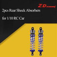 2Pcs ZD Racing 105mm Rear Shock Absorber Damper Suspension for 1/10 HSP RC Car