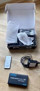 Ligawo HDMI Switch, 3 zu 1-3D, mit Fernbedienung, gebraucht, OVP