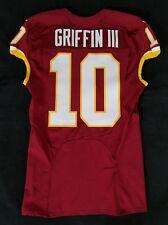 #10 Robert Griffin III (QB) of Washington Redskins Nike Team Issued Jersey