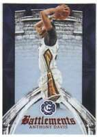 2016-17 Panini Excalibur Basketball Battlements #6 Anthony Davis Pelicans