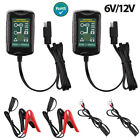 2x 12V Automatic Battery Charger Motorcycle Trickle Float For Tender Maintainer