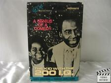 The Kid With The 200 I.Q. VHS; Gary Coleman; U.S.A. Home Video; Robert Guillaume