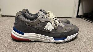 Size 10.5 - New Balance 992 Gray M992AG