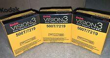 3 ROTOLI KODAK v3 SUPER 8mm Colore pellicola negativa 500t 7219 RIVENDITORE UFFICIALE