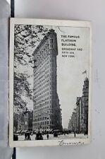 New York NY NYC Flatiron Building Postcard Old Vintage Card View Standard Post