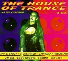 House of Trance (1994, #zyx81002) Jam & Spoon, 2 Unlimited, Cappella, J.. [2 CD]