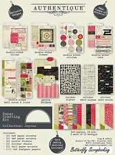 Christmas Joyous Scrapbooking Paper Crafting Card Making Kit Authentique NEW