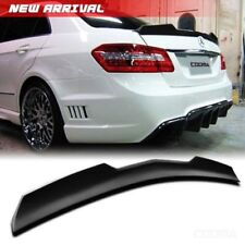 PAINTED For MERCEDES BENZ W212 4DR SEDAN E350 V REAR BOOT TRUNK SPOILER E63