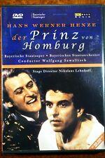 Der Prinz Von Homburg - Hans Werner Henze  - DVD, As New