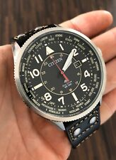 CITIZEN Pro-master Nighthawk World Time Eco-drive Mens Watch (BX1010-02E)