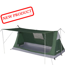 1 Person Bivy Camping Tent Backpacking 3 Seasons Outdoor Shelter Canopy Green