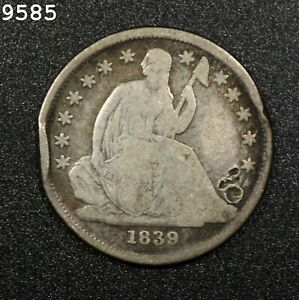 1839-O Liberty Seated Dime *Free S/H After 1st Item*