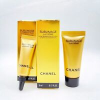 Chanel Sublimage Travel Set : La Creme 5ml/0.17oz ,Yeux Eye Cream 3ml / 0.1oz