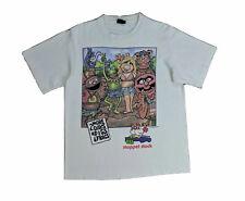 Vintage Muppets Rare Sz Xl Short Sleeve White Tee Shirt Top Muppet Stock
