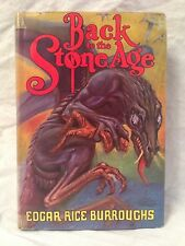 Edgar Rice Burroughs - Back to the Stone Age - 1st/1st Tarzana 1937, Original DW