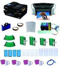 3D Professional Sublimation Heat Press Machine Epson Printer C88 CISS KIT