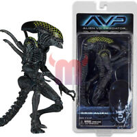 "NECA Grid Alien AVP Xenomorph Aliens vs Predator 7"" Action Figure Series 7 New"