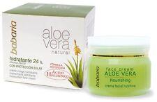 Babaria Crema viso nutriente Aloe Vera 50 ml