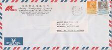 (K82-95) 1992 Hong Kong 2.30 air mail Envelope to Auckland NZ (CS)