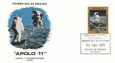 Apollo 11 Panama First Day Cover With Moon Walk Cachet (Sc# 379)