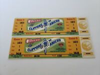 1996 Los Angeles Clippers vs New York Knicks Full Ticket Stubs