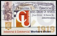 South Africa 2019 MNH Industrial & Commercial Workers Union 1919 1v M/S Stamps
