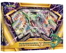 Pokemon TCG Rayquaza EX Collection Box Sealed 4 Booster Packs & Promo Card