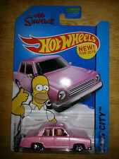 Hot Wheels 2015 The Simpsons Family Car #56 HW City