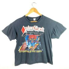Judas Priest Defenders Of The Faith Deluxe Mens Graphic T-Shirt Black Vintage L