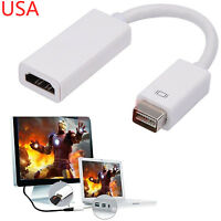 Mini DVI to HDMI Adapter Cable for OLD Macbook iMac Pro