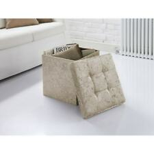 Luxe Velvet Storage Seat Multi-Function Living Room Bedroom Decor
