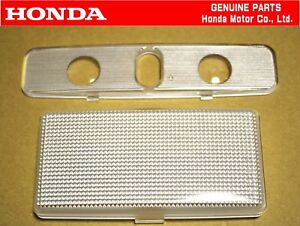 HONDA GENUINE CIVIC EK9 TYPE-R Interior Map Dome Light Lamp Lens Cover Set OEM