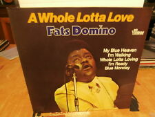 """fats domino""""a whole lotta love""""lp12""""vintage:f50003.ger."""