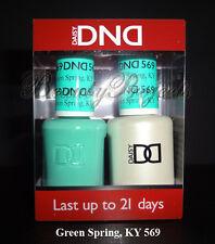 DND Daisy Soak Off Gel Polish Green Spring KY 569 full size 15ml LED/UV gel duo