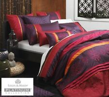 LOGAN & MASON INDIE SPICE QUILT COVER SET PLATINUM COLLECTION ~ DOUBLE QUEEN
