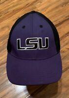 LSU Tigers Louisiana State Football Baseball Cap Truckers Hat Strapback NCAA VGC
