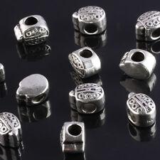 Charms espaciadores mariquitas plata pulsera europea 5 unidades. Oferta.