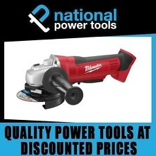 NEW MILWAUKEE CORDLESS GRINDER HD18AG125-0 18 VOLT M18 BARE TOOL 125MM