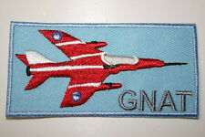 GNAT EMBROIDERED HEAT-SEAL PATCH P045