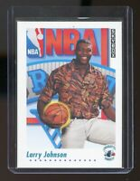 1991-92 SkyBox #513 Larry Johnson Charlotte Hornets Rookie Card